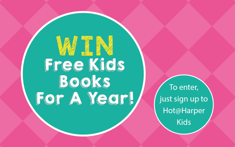 win free kids books for a year harper collins new zealand