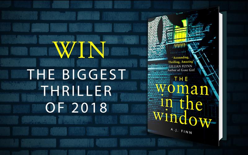Win The Woman in the Window by AJ Finn